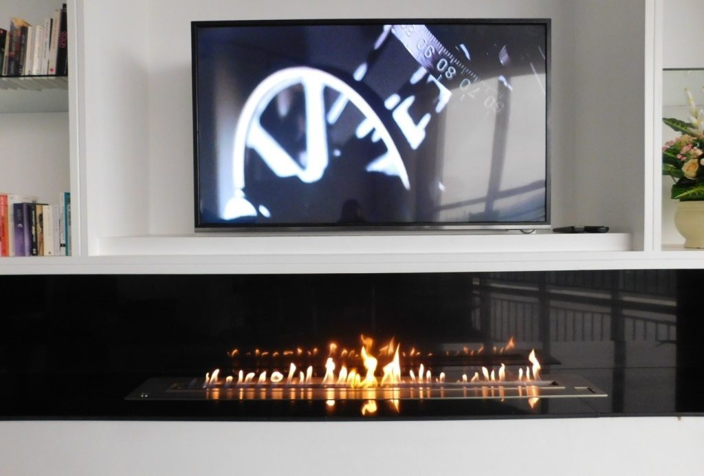 Afire Remote Controlled Bio Ethanol Fireplace Insert