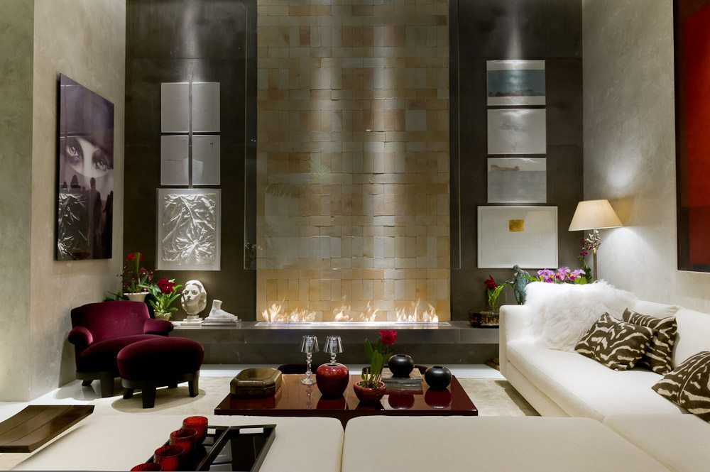 High-End Design Fireplace which Fits Perfectly within a ...