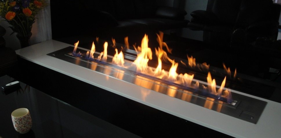 Ventless fireplace insert