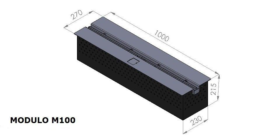 M100 Modulo interior