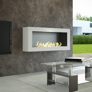 bio ethanol wall mounted fireplace sasa large