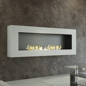 Wall fireplace XL sasa with remote control