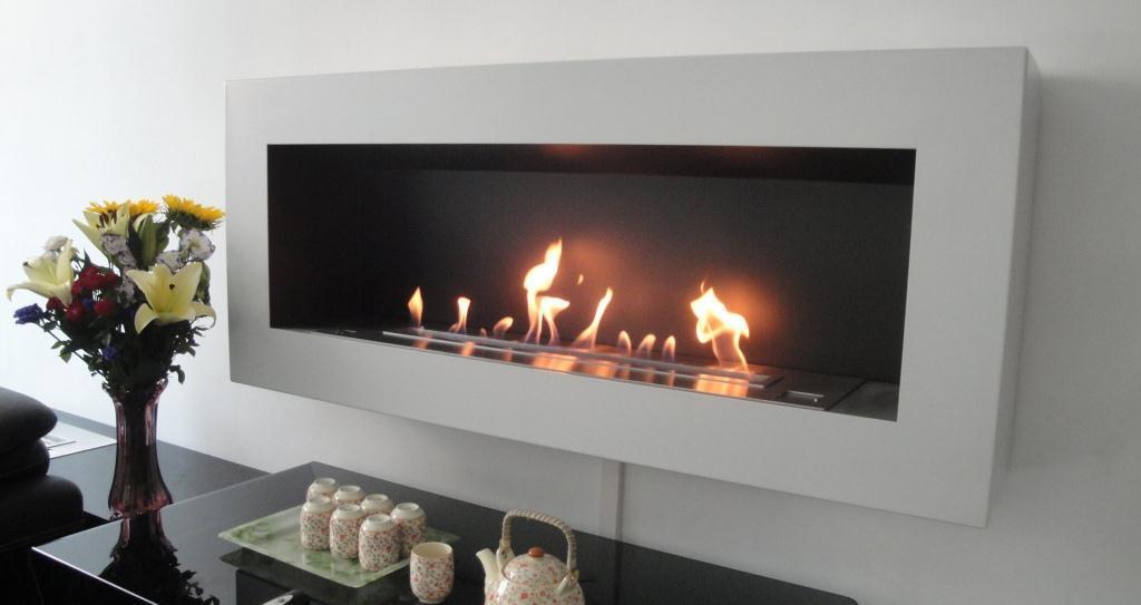 wall mounted fireplace afire ethanol wall fireplace