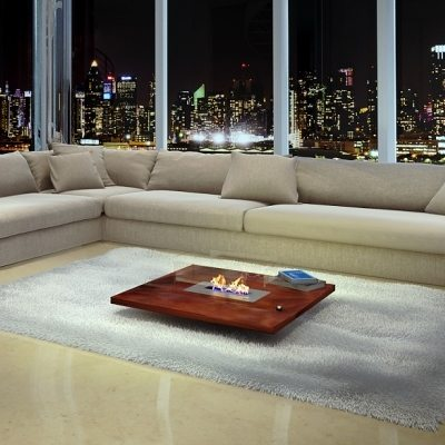 Square coffee table AFIRE
