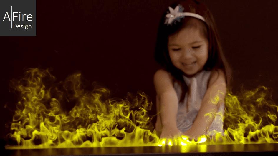 Fake Fireplace & Real Decorative Electric Water Vapor Fireplace