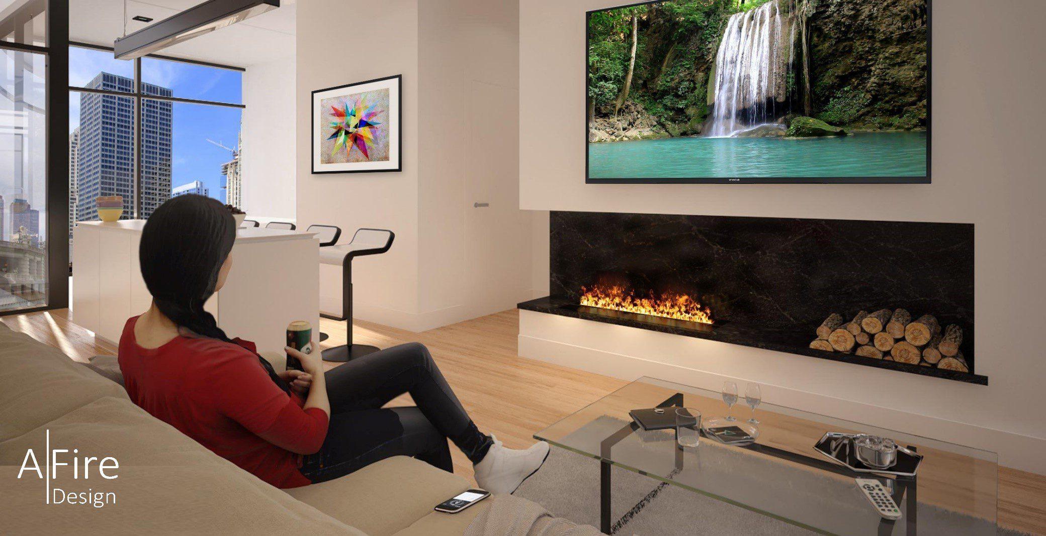 ADVANCE water vapor fireplace inserts